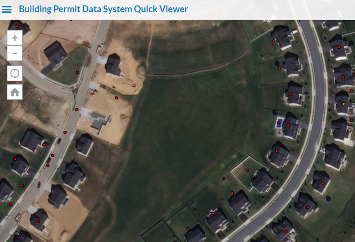 Building Permit Data System Quick Viewer